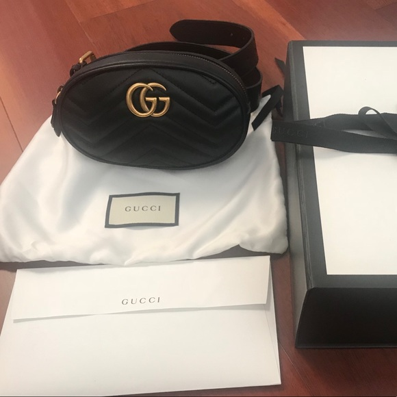 9303c0d580d GG Marmont matelassé leather belt bag brand new!!